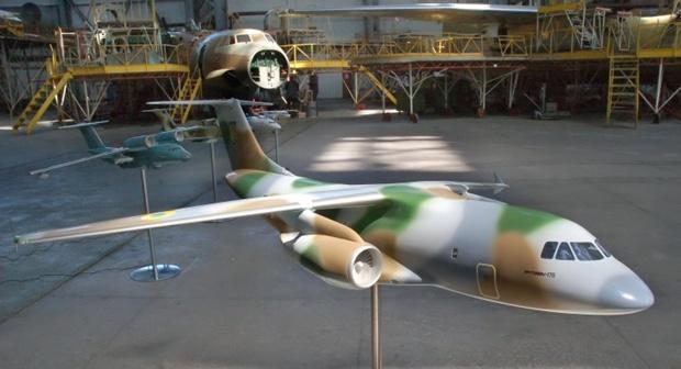 Модель самолета Ан-178