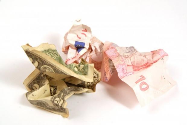 Котировки гривни по отношению к евро