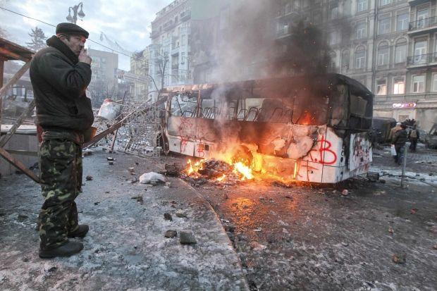 Нынешние события в Киеве являются прямой угрозой - заявление / Reuters
