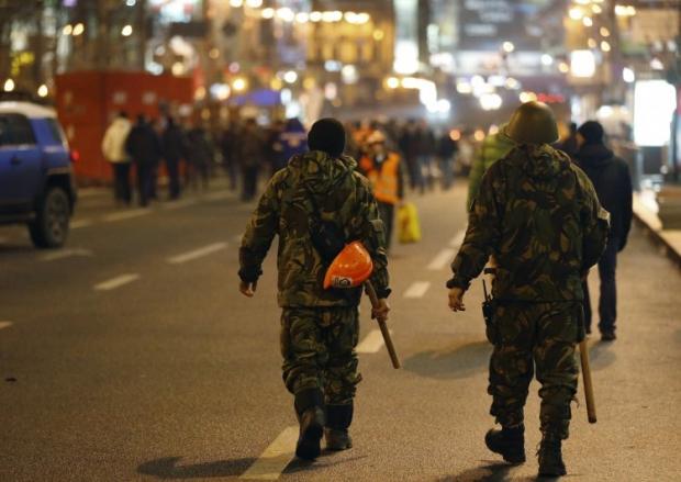 Самооборону Евромайданов мобилизируют